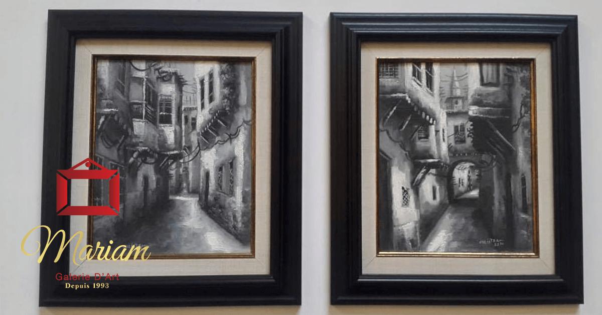 Classical Frames in Laval, Quebec, Canada