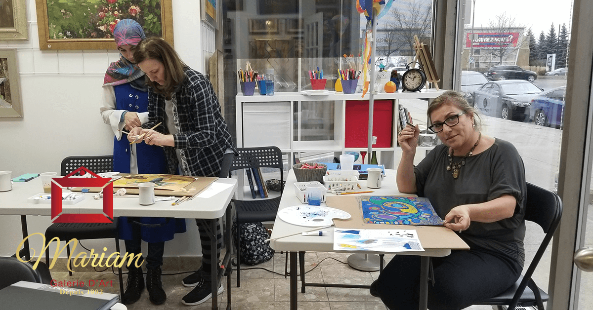 Art Classes in Blainville, Quebec, Canada