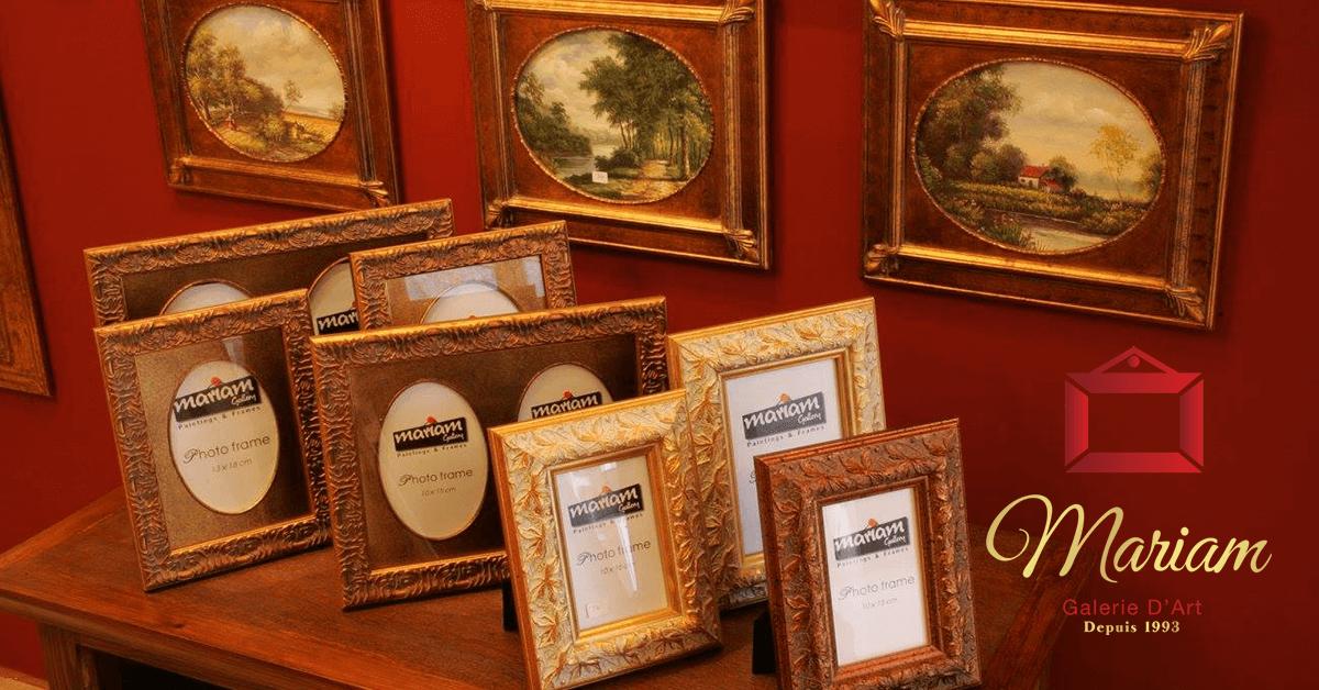Classical Frames in Brossard, Quebec, Canada