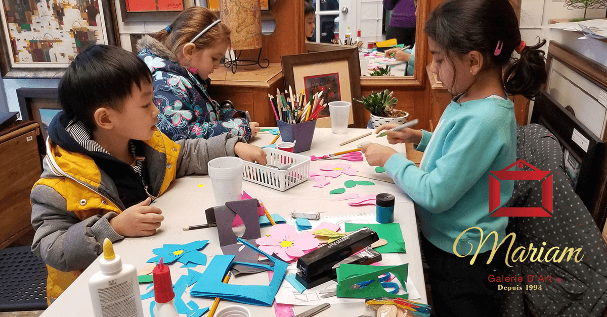 Art Workshops in Mirabel, Quebec, Canada