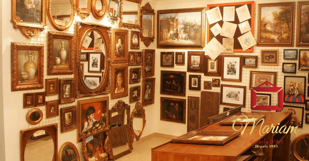 Mirror Frames in Repentigny, Quebec, Canada