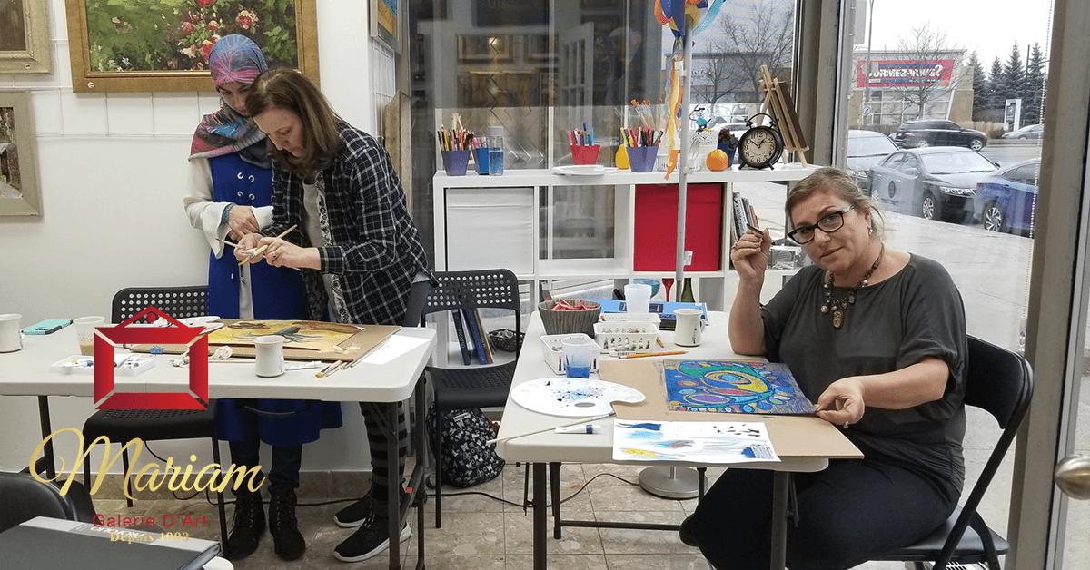 Art Workshops in Blainville, Quebec, Canada