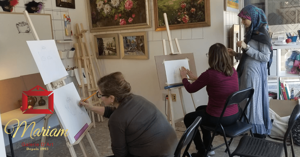 Art Workshops in Longueuil, Quebec, Canada