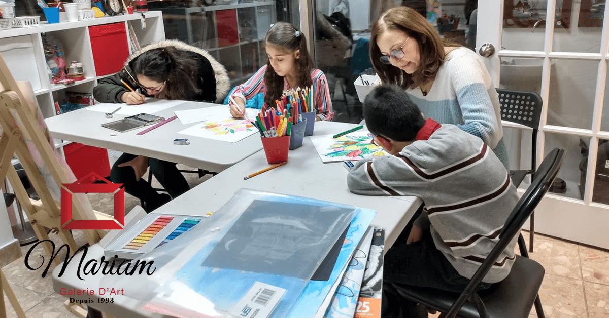 Art Workshops in Repentigny, Quebec, Canada