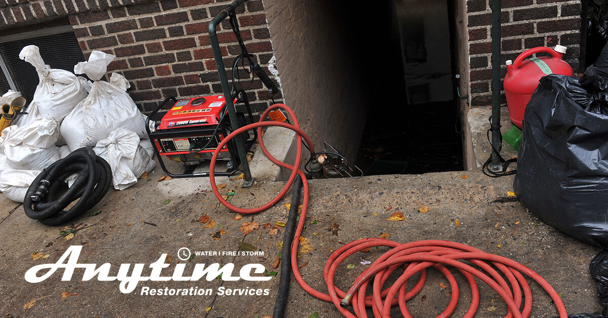 Flood Damage Restoration in Armada, MI