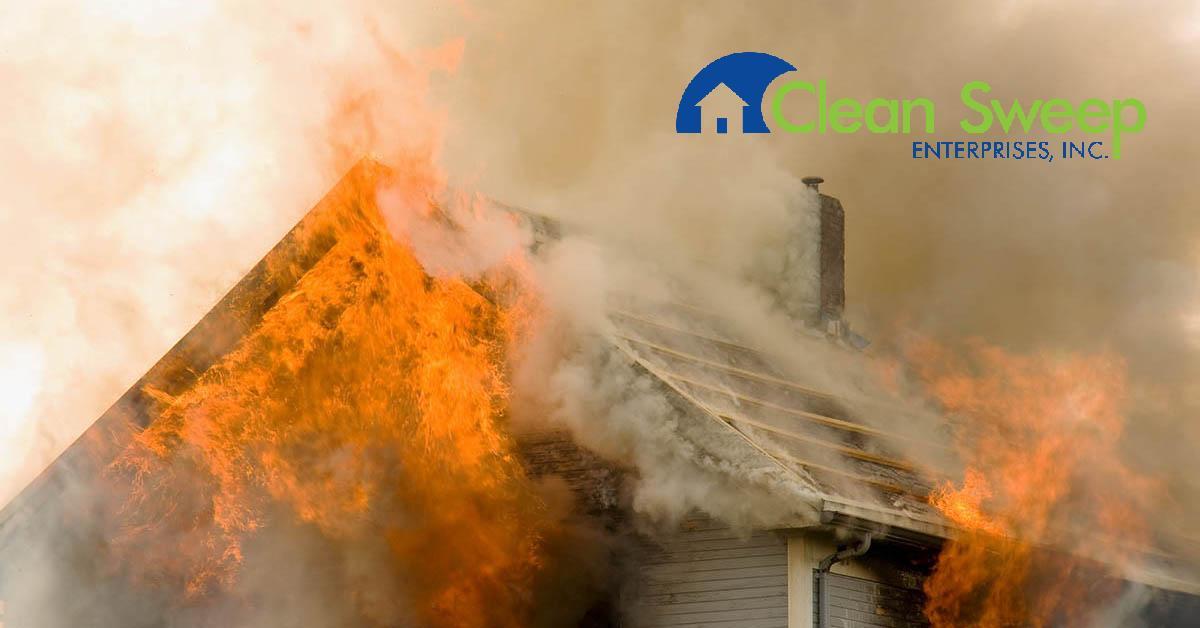 Fire Damage Restoration in Gamber, MD