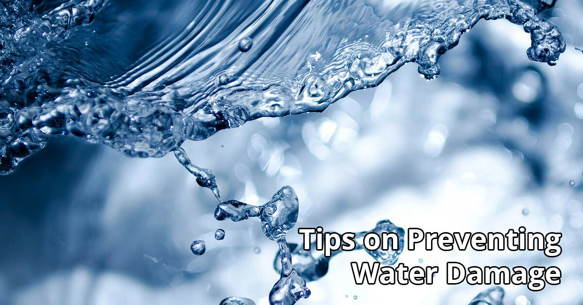 Water Damage Repair Tips in Catonsville, MD