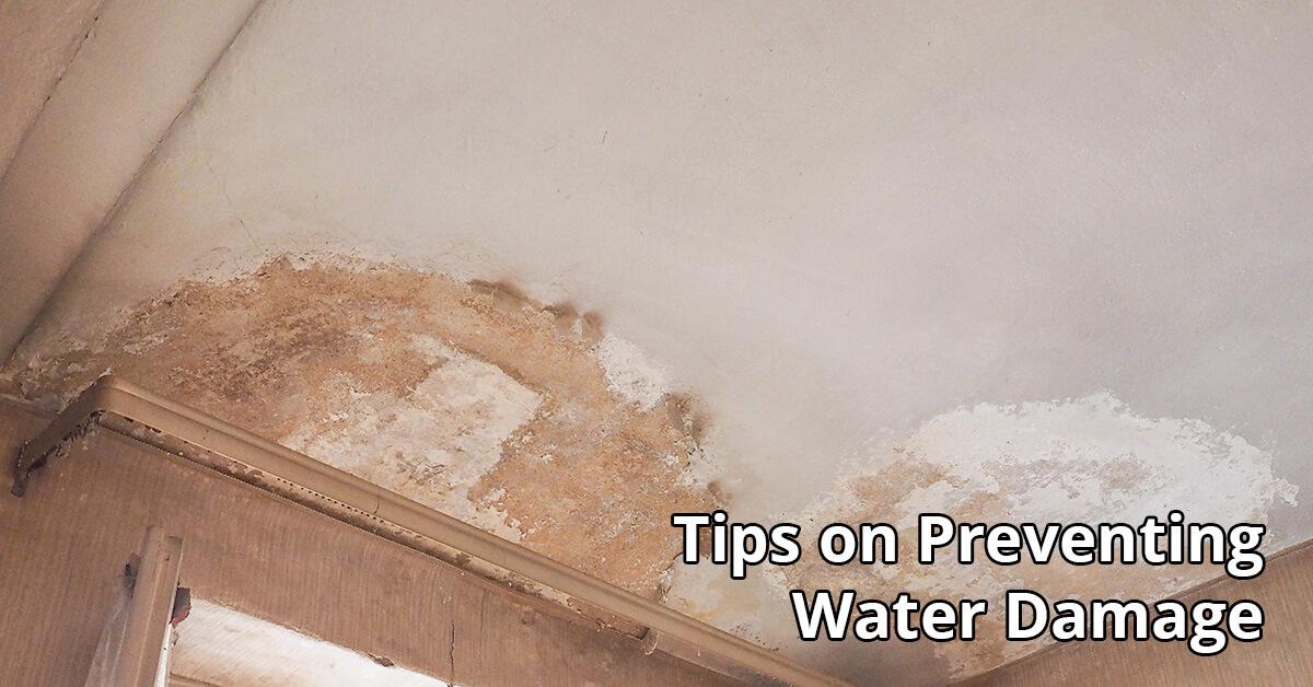 Water Damage Repair Tips in Owings Mills, MD