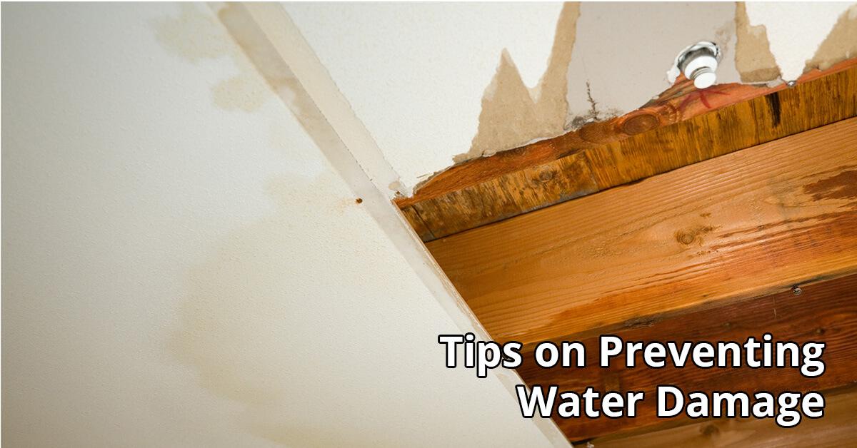 Water Damage Tips in Ellicott City, MD
