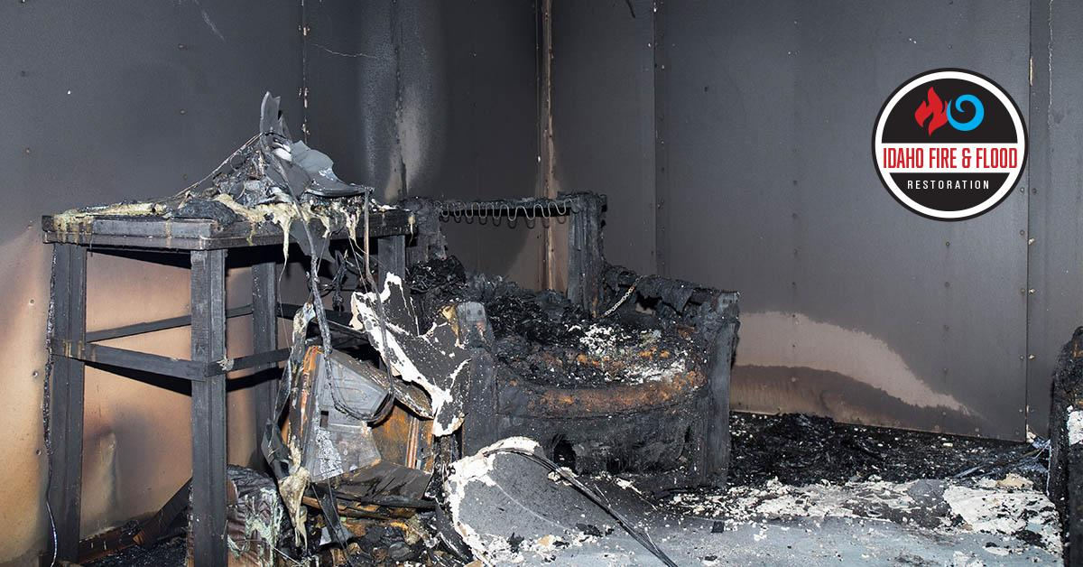 Certified Fire and Smoke Damage Restoration in Pocatello, ID