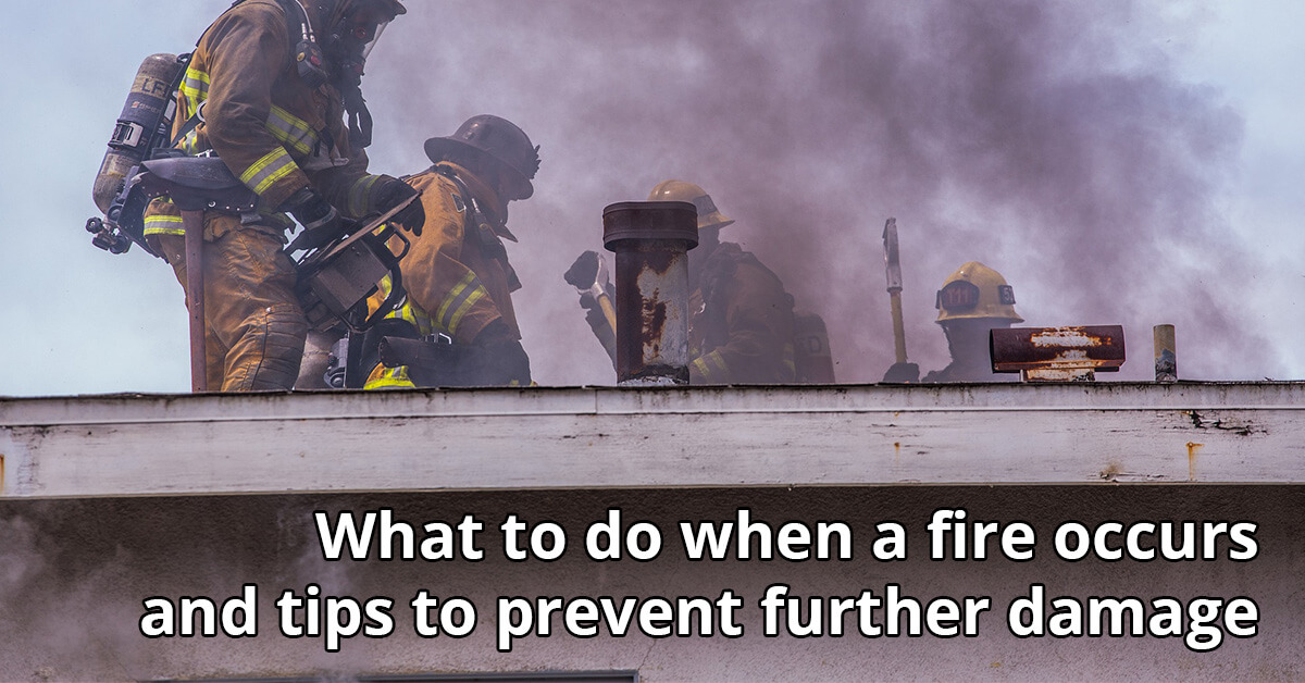 Fire and Smoke Damage Cleanup Tips in Pocatello, ID