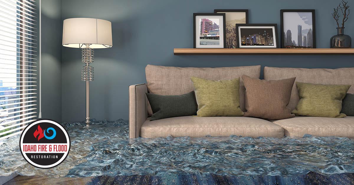 Certified Water Damage Restoration in Idaho Falls, ID
