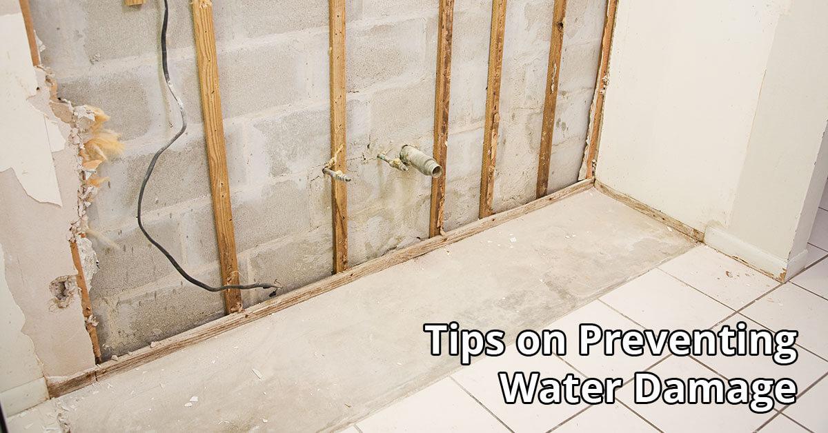 Water Damage Restoration Tips in Boise, ID