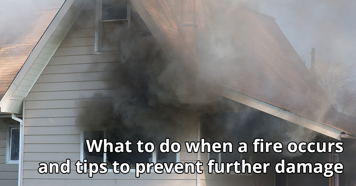 Fire Damage Cleanup Tips in Sand Point, ID