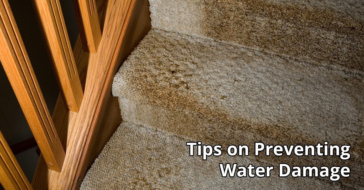 Water Damage Tips in Post Falls, ID