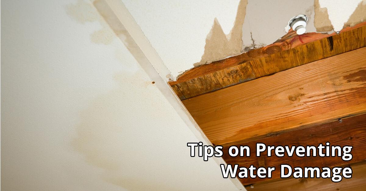 Water Damage Repair Tips in Walton County, FL
