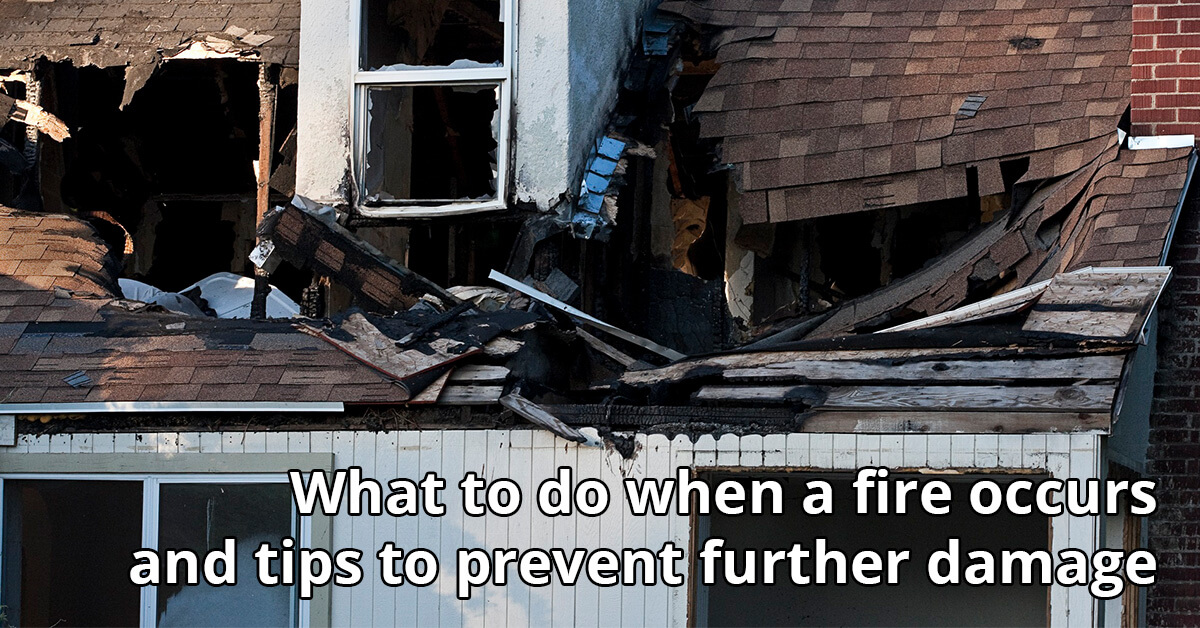 Fire Damage Cleanup Tips in Haddon Township, NJ