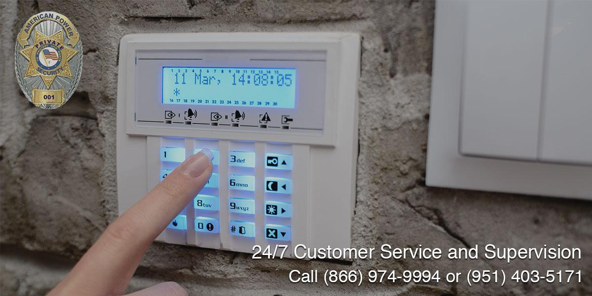 Alarm Response in Rialto, CA
