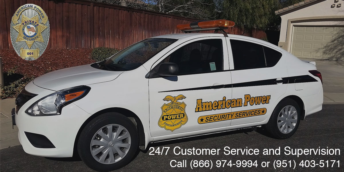 On-site Plain-clothes Officers in Riverside County, CA