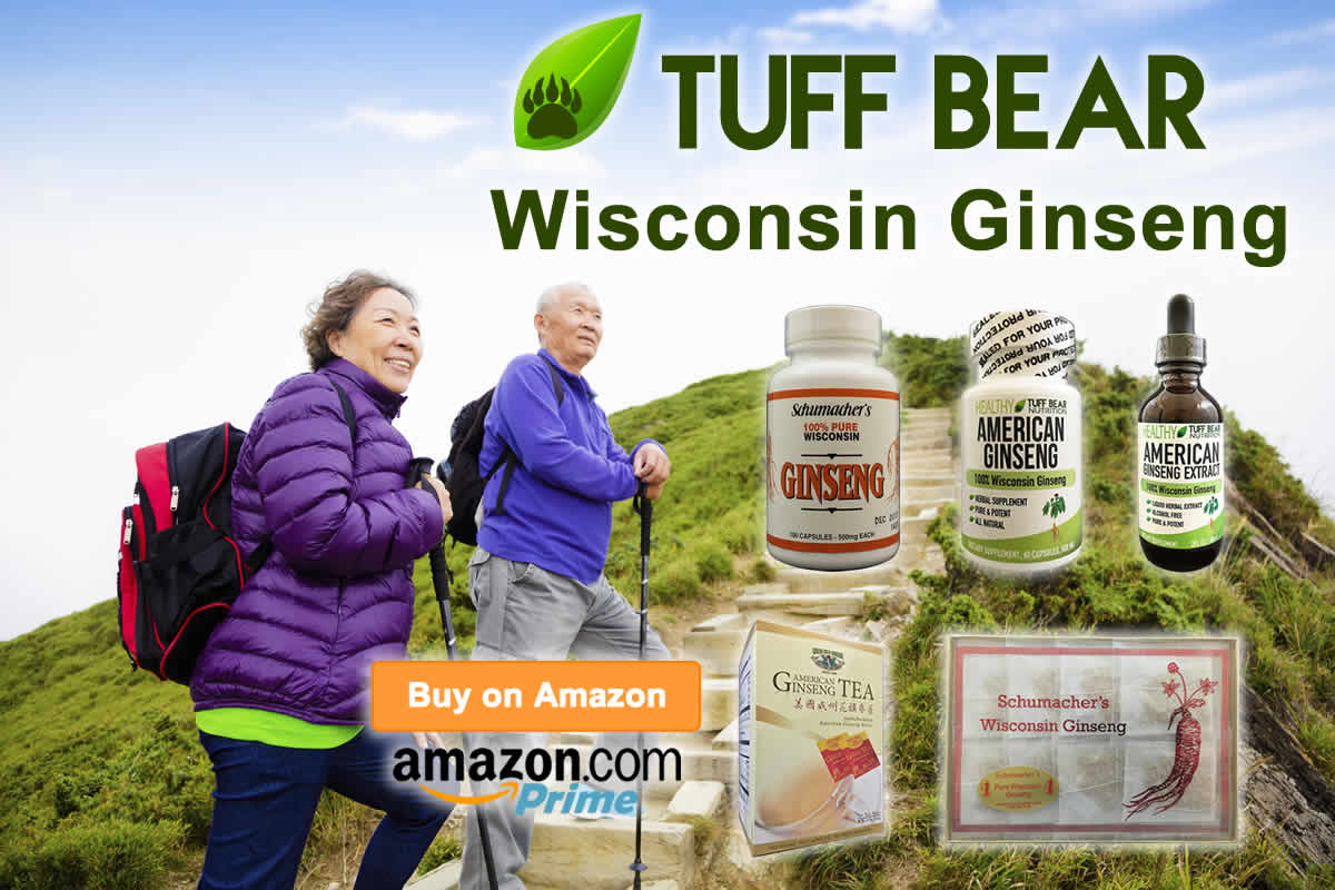 Get Now! New Wisconsin Ginseng