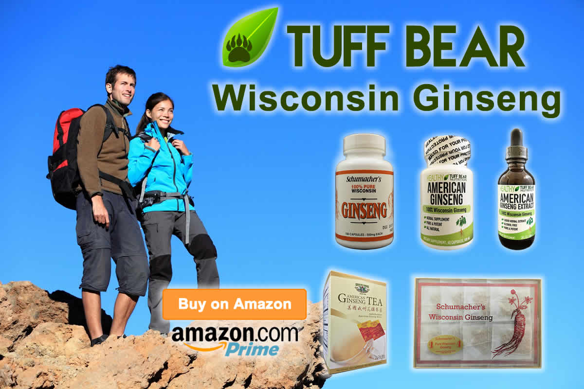 Shop Now! New American Ginseng