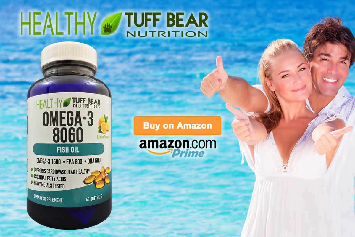 Shop Now! New Omega 3 Fish Oil Supplements