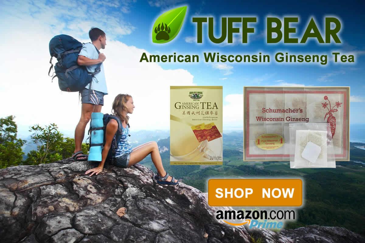 Don't Wait! Brand New Wisconsin Ginseng Tea