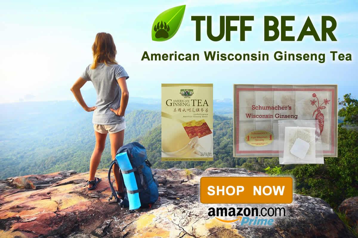 Shop Now! Brand New Ginseng Tea