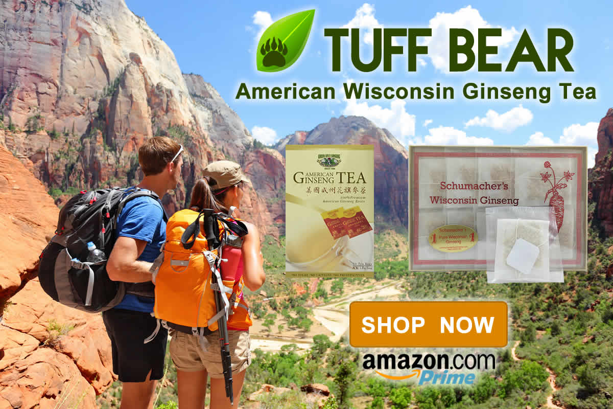 Buy Now! New Wisconsin Ginseng Tea