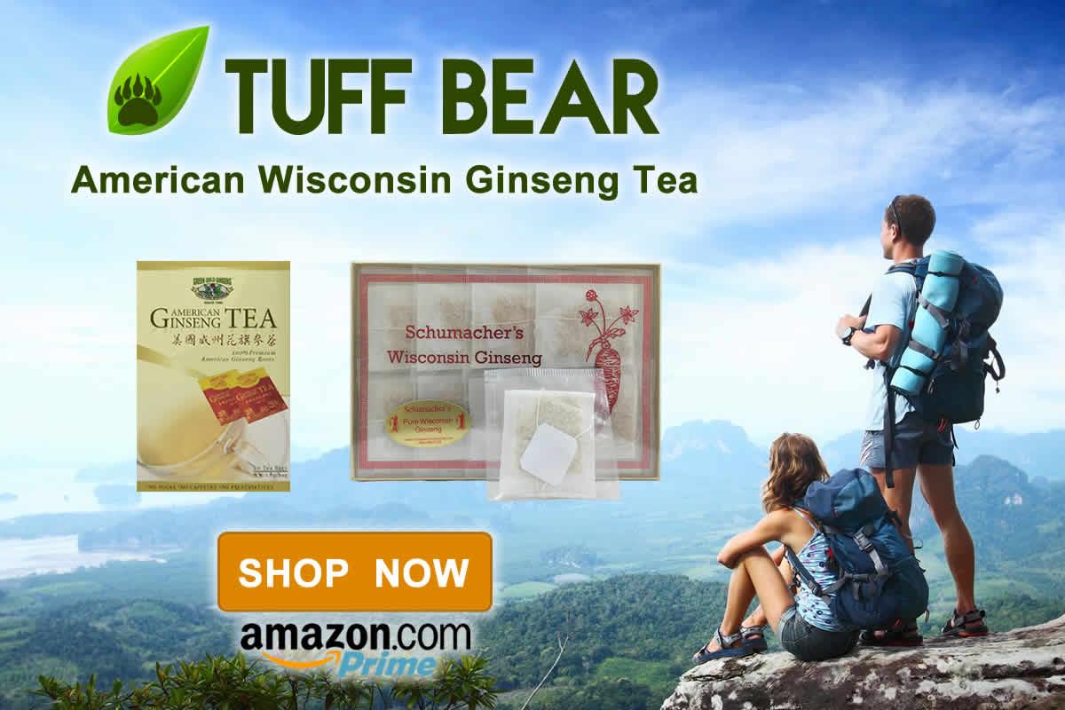 Top Brand! Brand New American Ginseng Tea