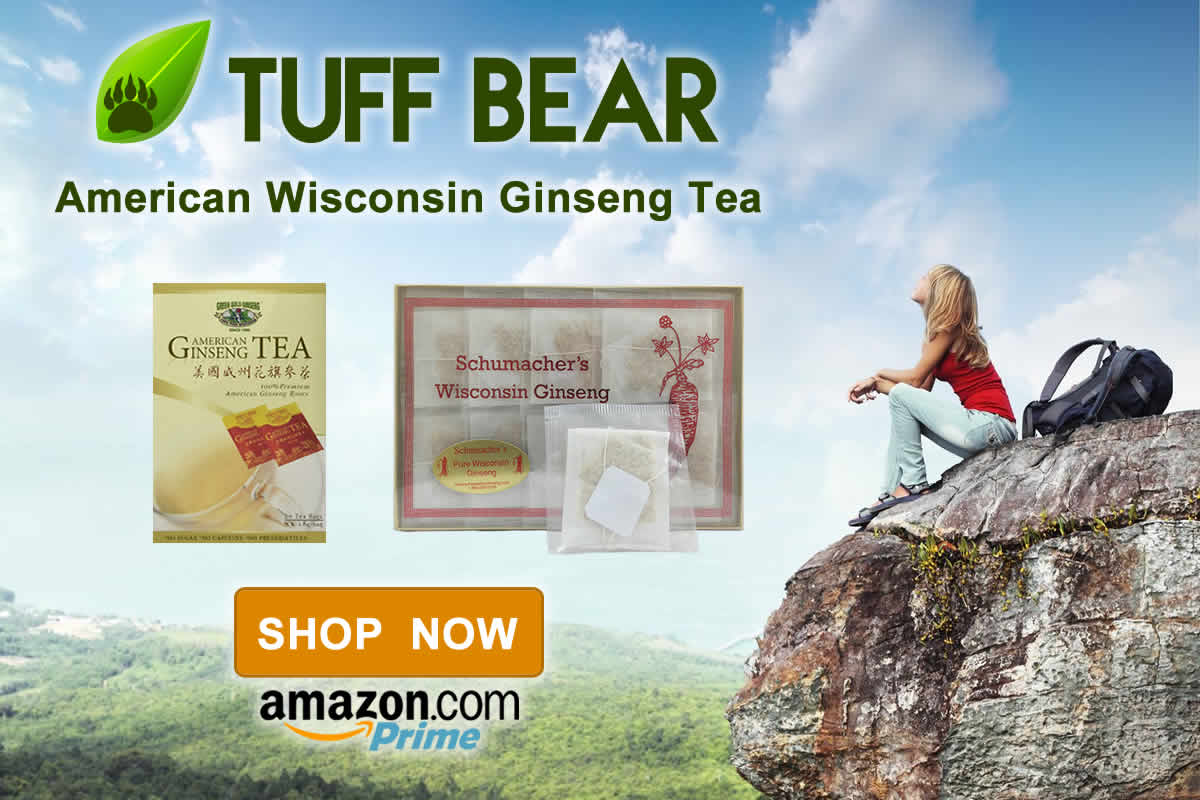 Buy Now! New American Ginseng Tea