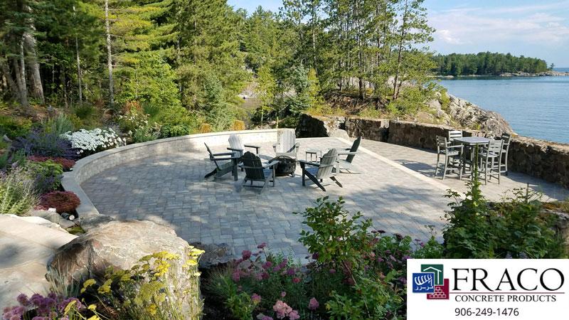 Landscaping limestone in Cascade, MI