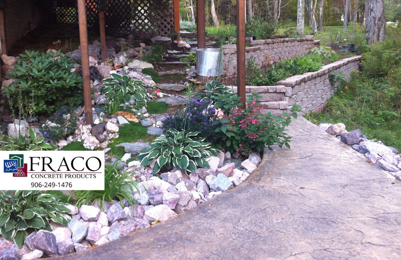 Concrete products in Cascade, MI