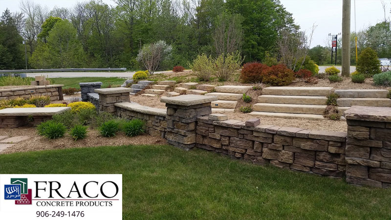 Landscaping steps in Cascade, MI