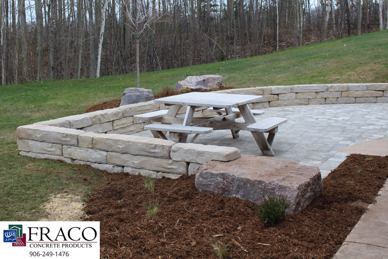 Landscaping limestone in Ishpeming, MI