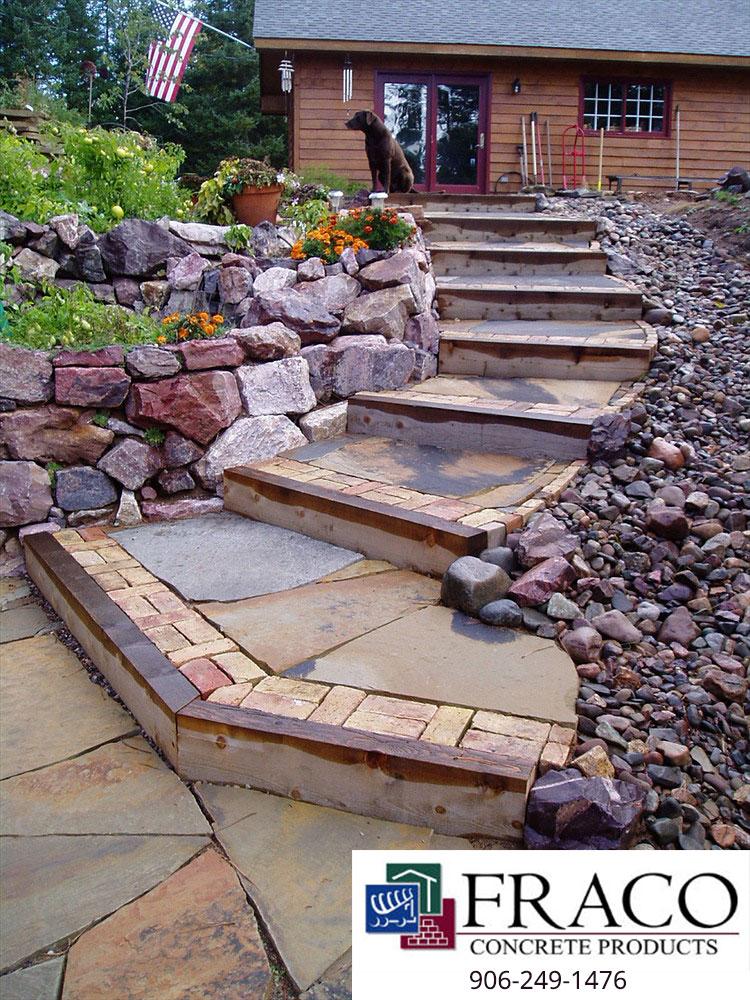 Landscaping stone in Cascade, MI