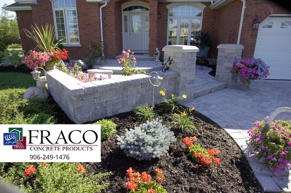 Landscaping retaining walls in Negaunee, MI