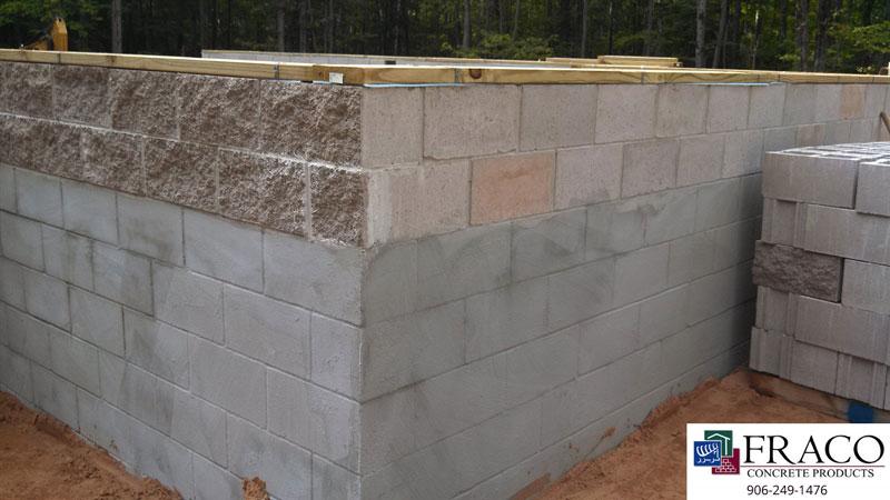 Concrete steps in Cascade, MI