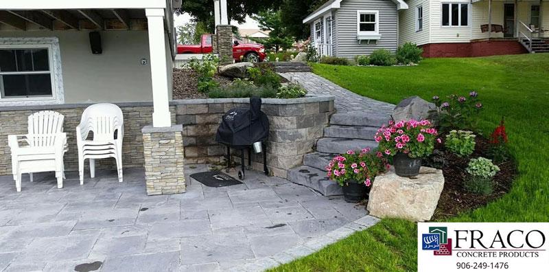 Landscaping steps in Cascade, MI