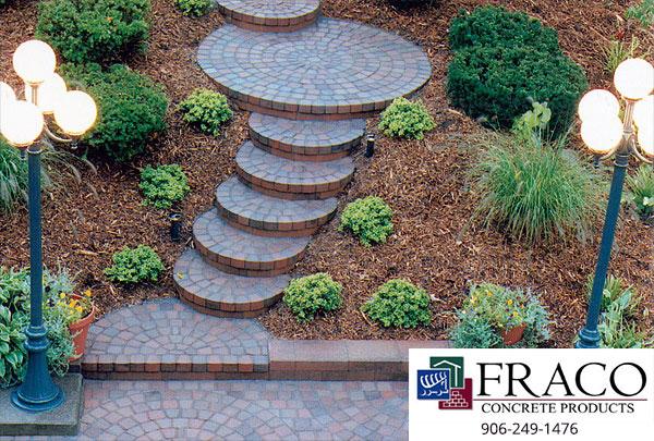 Landscaping steps in Munising, MI