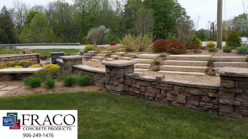Landscaping brick in Marquette, MI