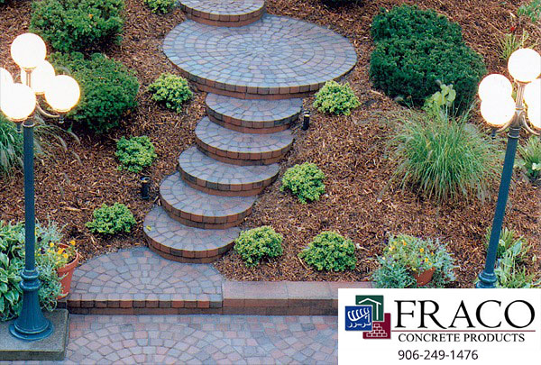 Landscaping steps in Marquette, MI